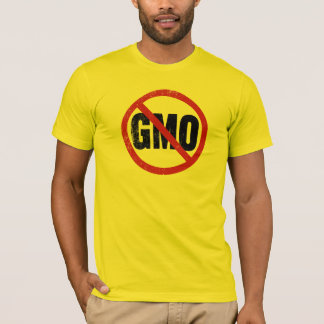 T-shirt AUCUNS OGM Anti-GMO
