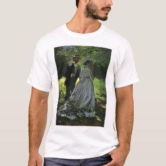T-shirt Auditeurs d'un concert-promenade par Claude Monet,