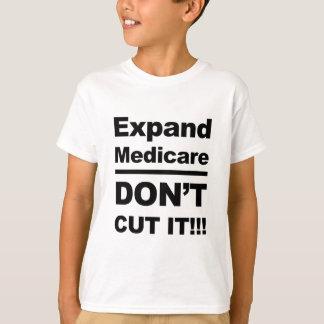 T-shirt Augmentez Assurance-maladie-Don't la coupent