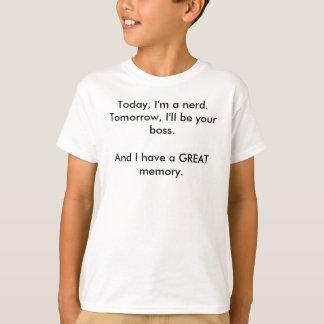 T-shirt Aujourd'hui, je suis un ballot. Demain, je serai