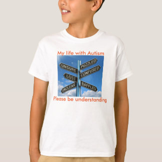 T-shirt Autiste perplexe