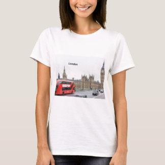T-shirt Autobus de Londres et Big Ben (St.K)