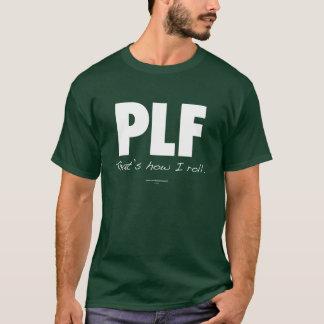 T-shirt Automne d'atterrissage de parachute