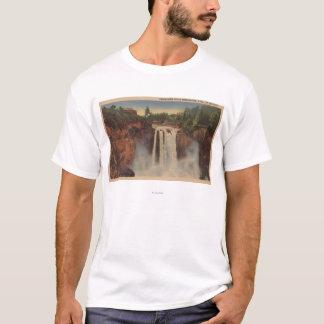 T-shirt Automnes de Snoqualmie, WA - vue des automnes et