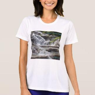 T-shirt Automnes Jamaïque de la rivière de Dunn