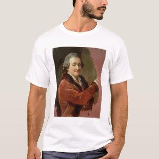 T-shirt Autoportrait, 1773-87 (huile sur la toile)