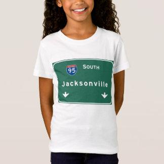 T-Shirt Autoroute d'autoroute nationale de Jacksonville la