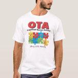 T-shirt auxiliaire 2XL de l'ergothérapie 2XL