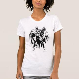 T-shirt Avant noir et blanc de Batman