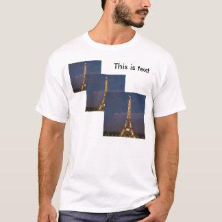 T-shirt Avant trois d'hommes