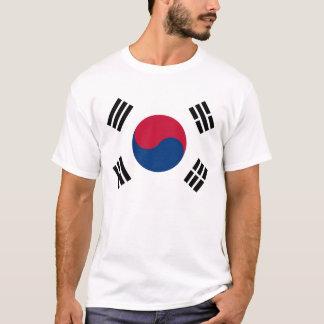 T-shirt avec le drapeau de la Corée du Sud