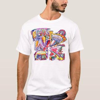 T-shirt Avechuchos Precolombinos