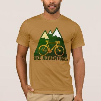 T-shirt aventures de vélo