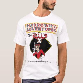 T-shirt Aventures horribles sur la planète X !