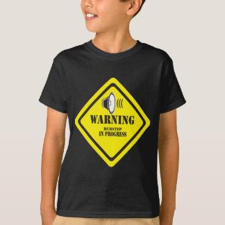 T-shirt Avertissement de Dubstep