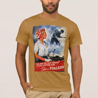 T-shirt Avertissement de rôdeur
