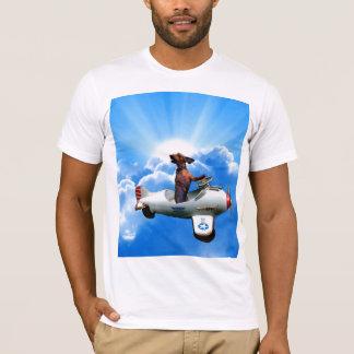 """T-shirt """"Aviateur de teckel"""" conçu par Zermeno"""