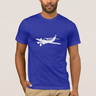 T-shirt Avion bleu