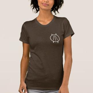 T-shirt Awen sur le noir