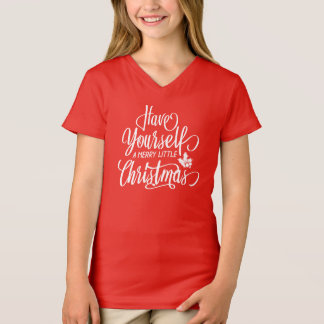 T-shirt Ayez vous-même une joyeuse petite chemise de Noël