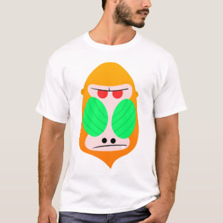 T-shirt Babouin orange