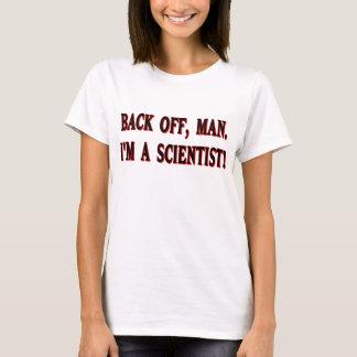 T-shirt Backoff, homme. Je suis un scientifique !