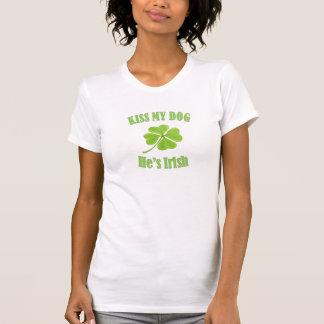 T-shirt Baiser de Jour de la Saint Patrick ma chemise de