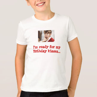 T-shirt Baisers d'anniversaire