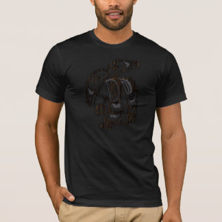 T-shirt Baker 542 deux a dirigé Raven