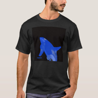 T-shirt Baleine bleue d'orque de vendredi