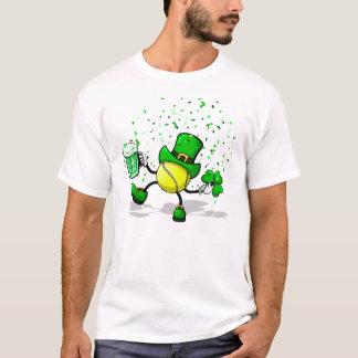 T-shirt Balle de tennis de danse et potable de lutin
