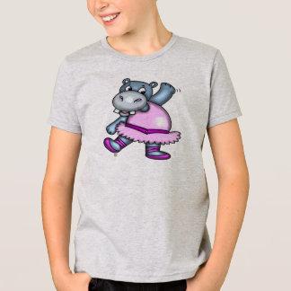 T-shirt Ballerine d'hippopotame de danse
