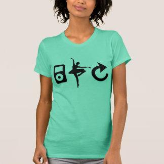T-shirt Ballet sur une boucle - réservoir