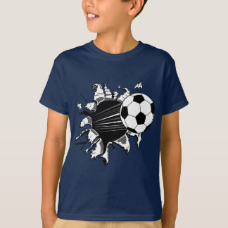 T-shirt Ballon de football éclatant
