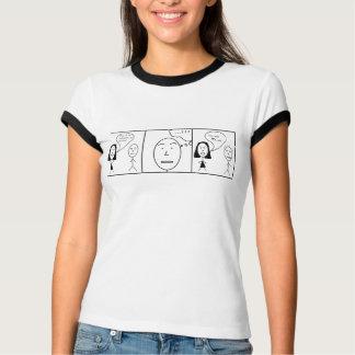 T-shirt Ballot de musique comique
