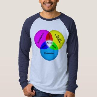 T-shirt Ballot, Dork, geek, crétin