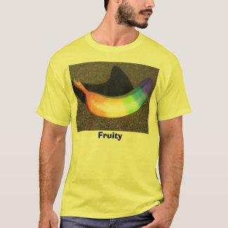 T-shirt Banane d'arc-en-ciel