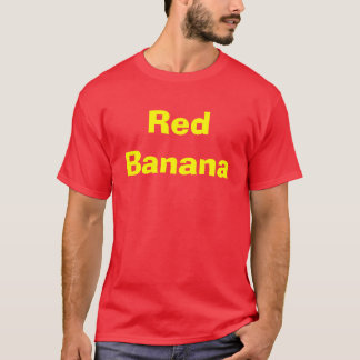 T-shirt Banane rouge