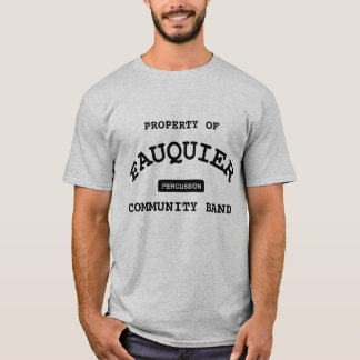 T-shirt Bande de Fauquier -- PERCUSSION