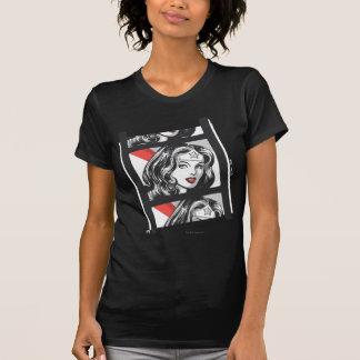 T-shirt Bande de film de femme de merveille