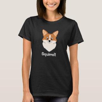 """T-shirt Bande dessinée captivée """"écureuil """" de corgi"""