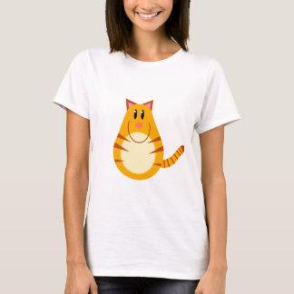 T-shirt Bande dessinée de chat tigré