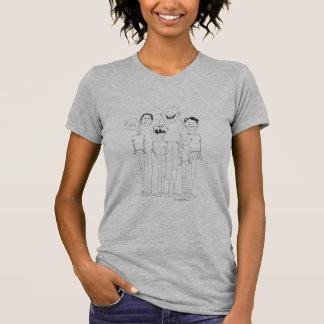 T-shirt Bande dessinée de crétin