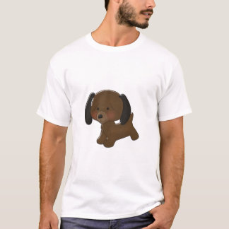T-shirt Bande dessinée de teckel
