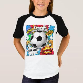 T-shirt Bande dessinée du football