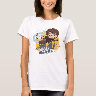 T-shirt Bande dessinée Harry et vol de Hedwig après