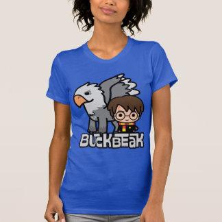 T-shirt Bande dessinée Harry Potter et Buckbeak