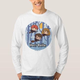 T-shirt Bande dessinée Harry, Ron, et vol de Hermione en