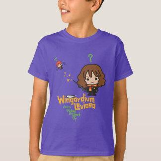 T-shirt Bande dessinée Hermione et charme de Ron