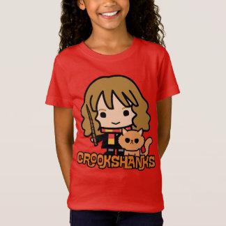 T-Shirt Bande dessinée Hermione et Crookshanks